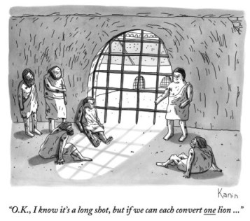 zachary-kanin-o-k-i-know-it-s-a-long-shot-but-if-we-can-each-convert-one-lion-new-yorker-cartoon