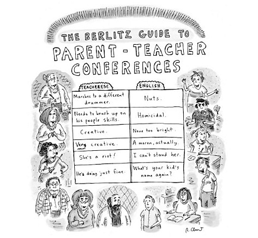 roz-chast-the-berlitz-guide-to-parent-teacher-conferences-new-yorker-cartoon
