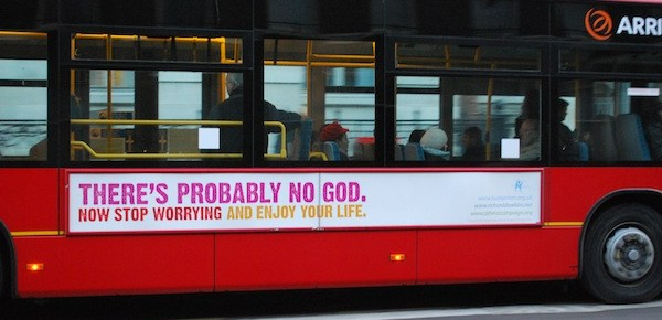 Francis Spufford on the Cruel Optimism of an Atheist Bus