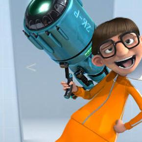 Gru?s nemesis, Vector (JASON SEGEL), shows off the shrink ray in Universal Pictures and Illumination Entertainment?s inaugural 3-D CGI feature, ?Despicable Me?.  The film tells the story of one the world?s greatest villains who meets his match in three little girls.