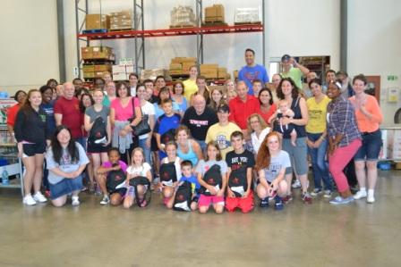 ACBA Backpack Project Volunteer Group Shot