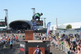 MBS Pro Ramp Mountainboarding display