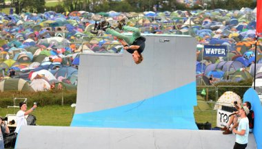 Tom Kirkman at Bestival - Photo by Paul Taylor