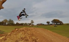 Ben Searle upside down