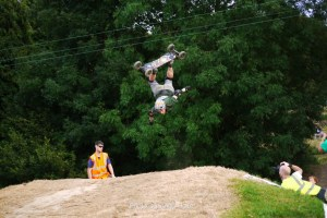 Emlyn Bainbridge Backflip