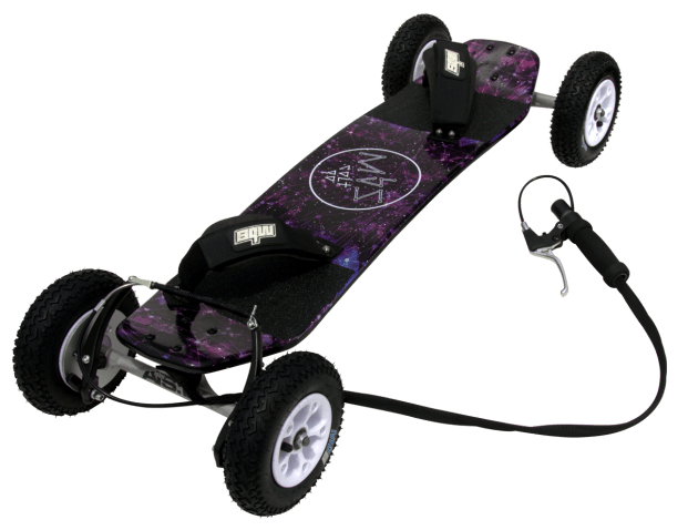 10102 - MBS Colt 90X Mountainboard - Constellation - Top 3Qtr