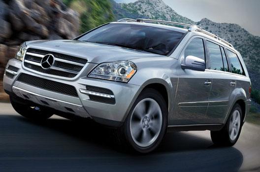 2011 mercedes benz gl class the full size seven passenger for Mercedes benz 7 passenger suv