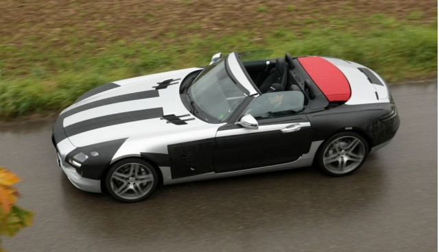 2012sls amg 2012 SLS AMG Roadster to Debut Next Year