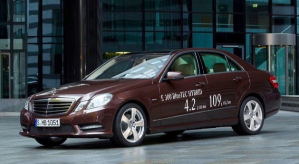 mercedes benz e class hybrid 628 597x328 Mercedes To Introduce E Class Hybrids In January