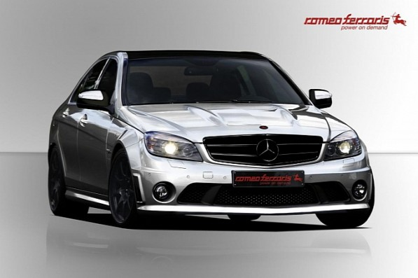 romeo ferraris plays with the mercedes c63 amg medium 1 597x397 Romeo Ferraris transforms the Mercedes C63 AMG
