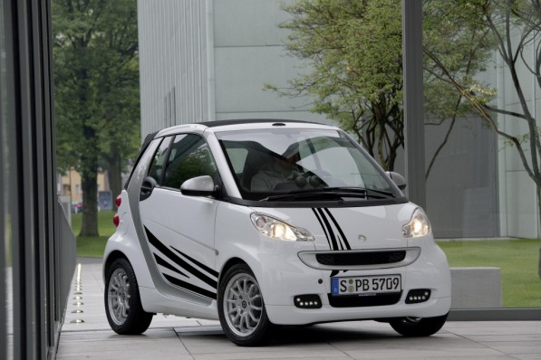 smart foryou 597x398 Smart Foryou Lets You Customize Your Fortwo