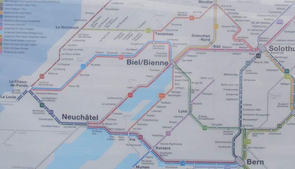 map sbb