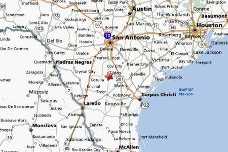 Map Of South Texas Cities - South texas map with cities