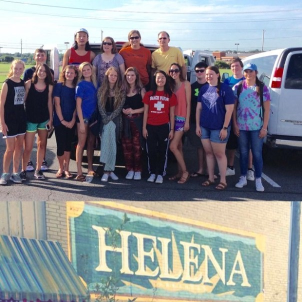 The McGill Youth Group is back from Helena-West Helena, Arkansas after a week of missions activities.