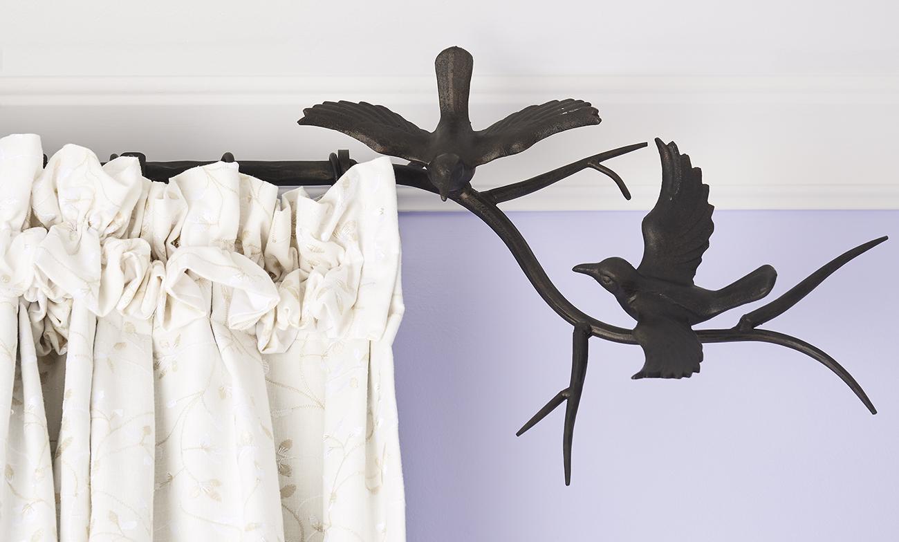 Adorable Lavender & White Nursery | McNeil Design Group Interiors