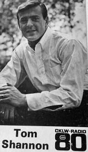 Tom Shannon CKLW 1967