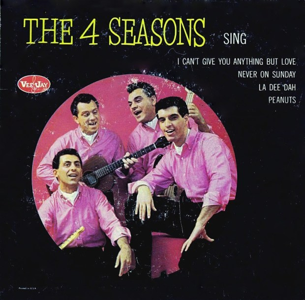The Four Seasons Sing' Vee-Jay 1963 (mcrfb)