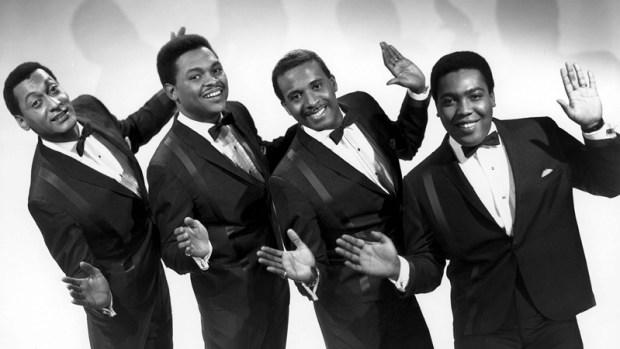 "THE FOUR TOPS (L to R): Abdul ""Duke"" Fakir, Renaldo ""Obie"" Benson, Levi Stubbs, Lawrence Payton Courtesy of Michael Ochs Archives/Venice, CA"