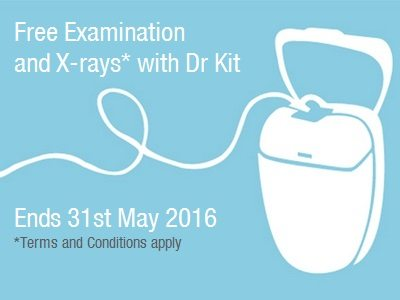 FREE Examination & Xrays - Ends 31st May 2016