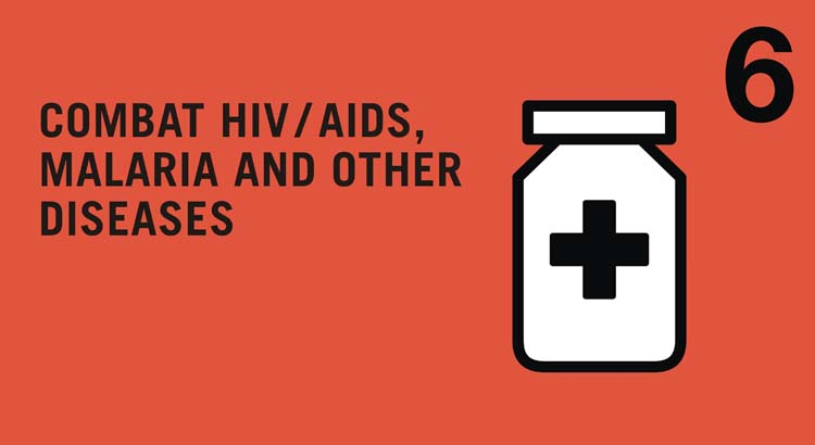 MDG 6: Combat HIV/AIDS, Malaria and other major diseases