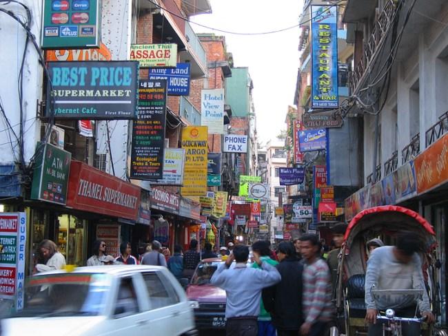 Congestion in Kathmandu