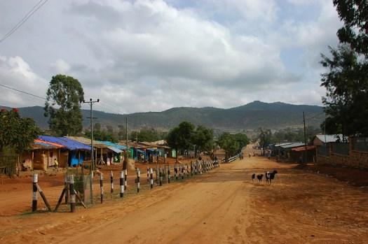 Road to Awasa