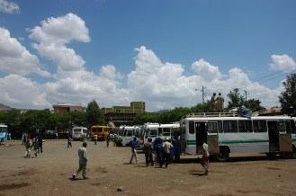 Gonder's bus station