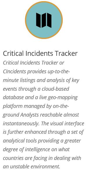 Critical Incidents Tracker
