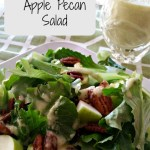 21 Day Fix: Apple Pecan Salad