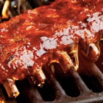 BBQ ribs available in our barbecue catering menu