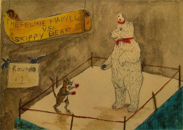 Skippy-Bear-vs-Feline-Marval