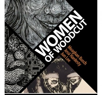"""Women of Woodcut"" at the Scott Center Gallery (upcoming)"