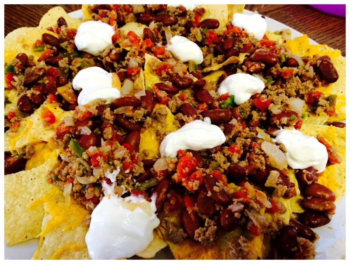 Nachos Grande- Weight Watcher friendly- 6 WW Smart Points