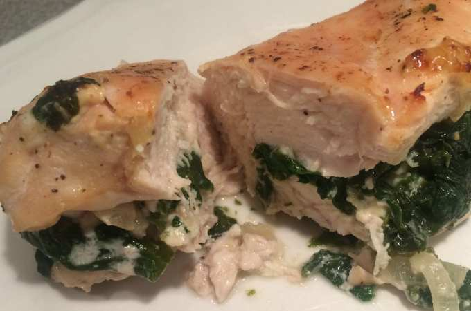 Spinach and Feta Stuffed Chicken Breasts Meal Planning Mommies cover photo