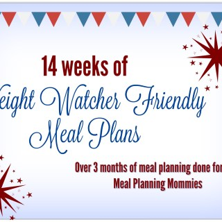 Fourth of July weekend 14 meal plans post