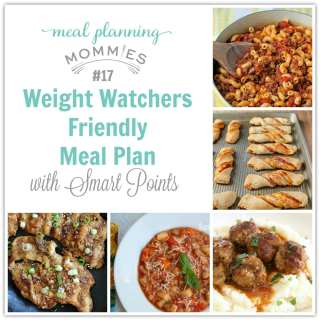 FREE Weight Watcher meal plan with smart points-Meal Planning Mommies