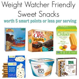 ww sweet snacks square