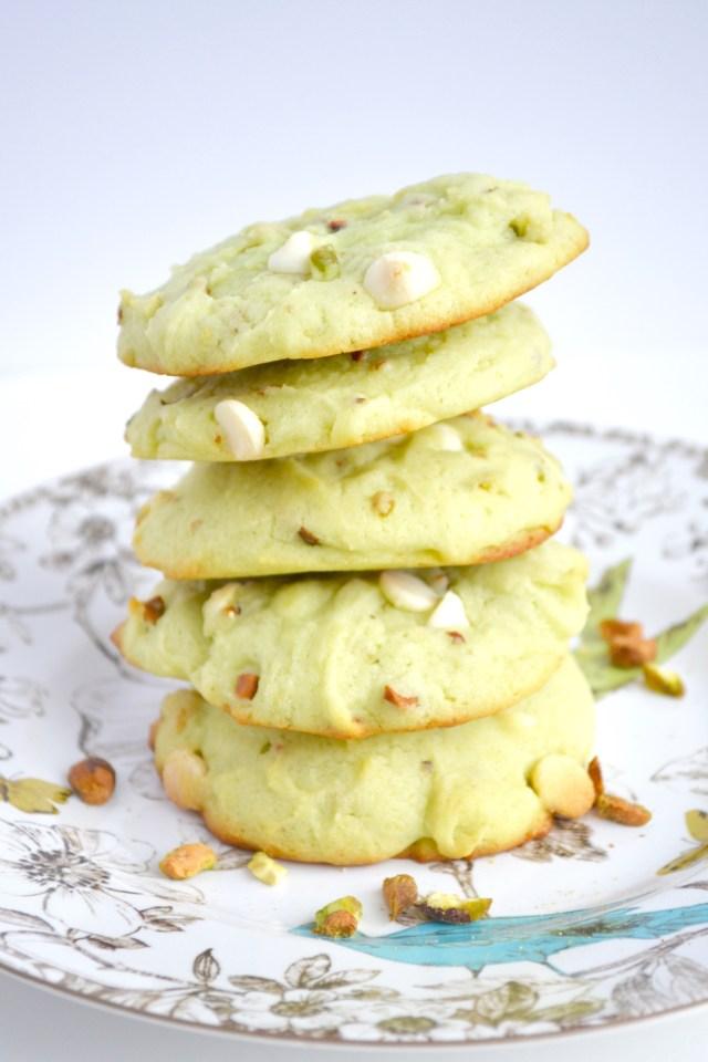 Salted Pistachio Cookies