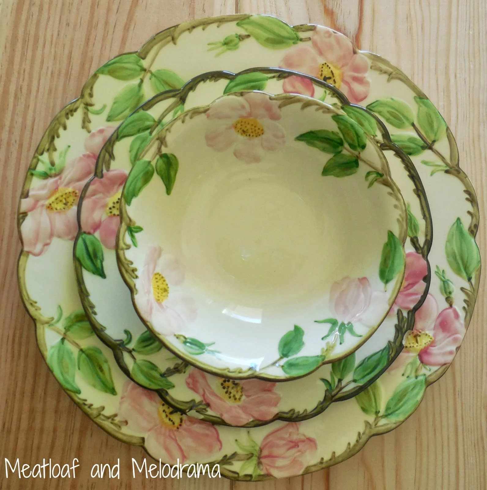 Sunshiny Sugar Franciscan Desert Rose Value Vintage Desert Rose Plates Set Vintage Franciscan Ware Meatloaf Melodrama Franciscan Desert Rose Creamer houzz-03 Franciscan Desert Rose