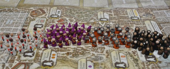 Lords of Waterdeep Deluxe Clay Meeples