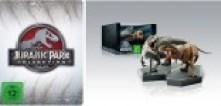 Jurassic Park Collection - Limited Steelbook + 2 Dinosaurier-Figuren Set (Blu-ray)