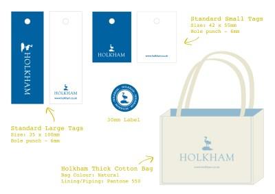 Holkham-Branding