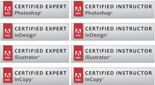 Certificazione corsi Adobe