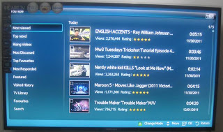 UA40D5900VR Samsung Smart TV YouTube