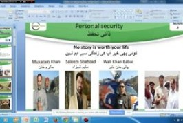 "Webinar on ""Journalist Security and conflict reporting"" 14-03-2015"
