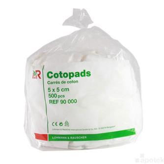 Cotonpads 5x5cm