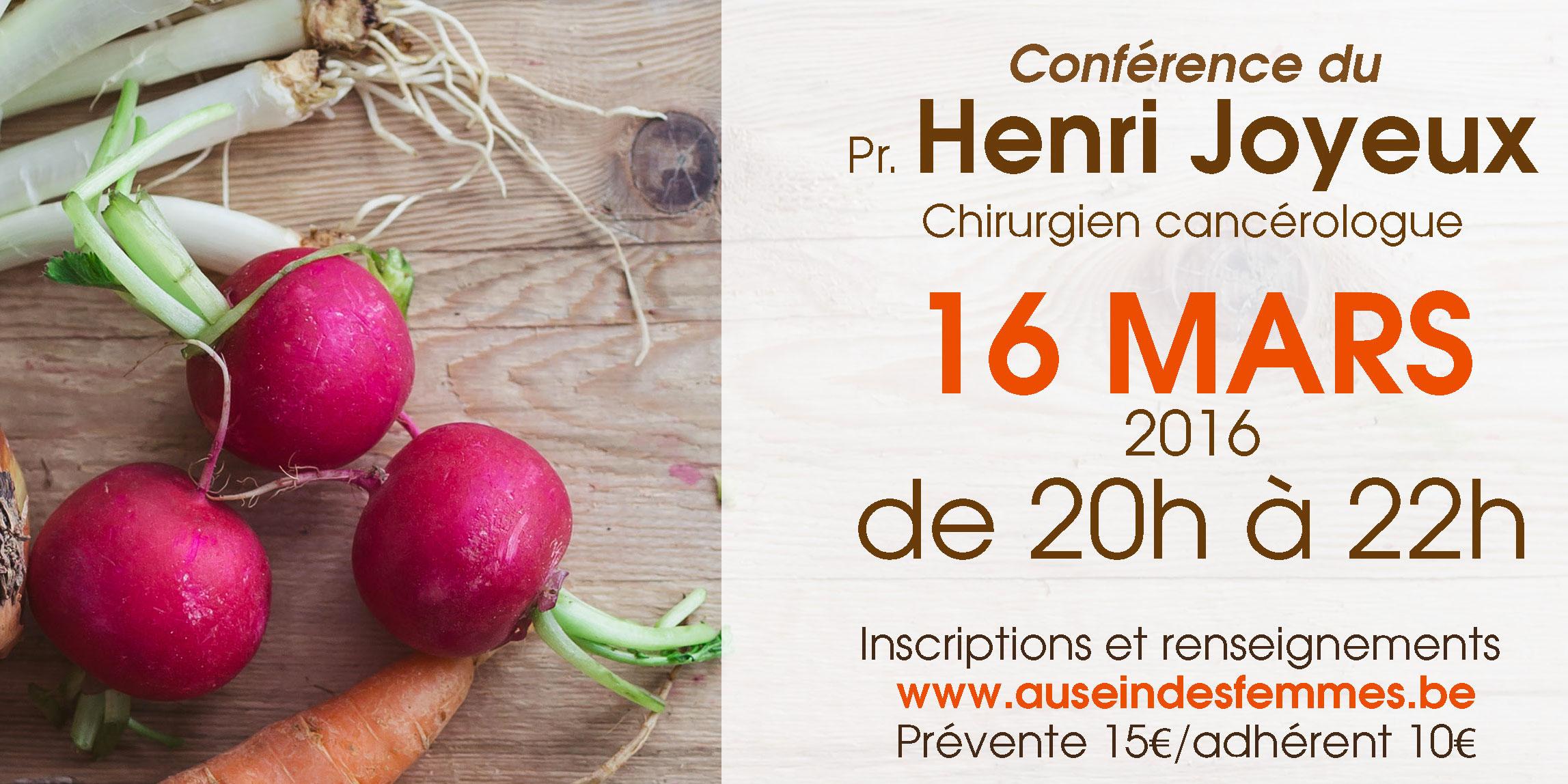Conférence du Professeur Henri Joyeux