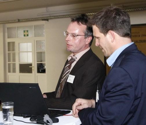 Alf Altendorf und Markus Weisheitinger-Hermann, Community TV FS1