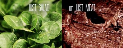 5 - just salad or meat