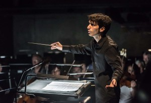JETTE PARKER YOUNG ARTISTS Summer Showcase; Royal Opera House; Covent Gardeh; London, UK; 14 July 2016; Eugene Onegin (excerpts from Act III scenes 1 and 2) by Pyotr Il'yich Tchaikovsky Conductor - Jonathan Santagada; Director - Richard Gerard Jones; Lighting Designer - Nick Havell; Movement director - Sarah Fahie; Photo: © ROH Photographer: CLIVE BARDA;